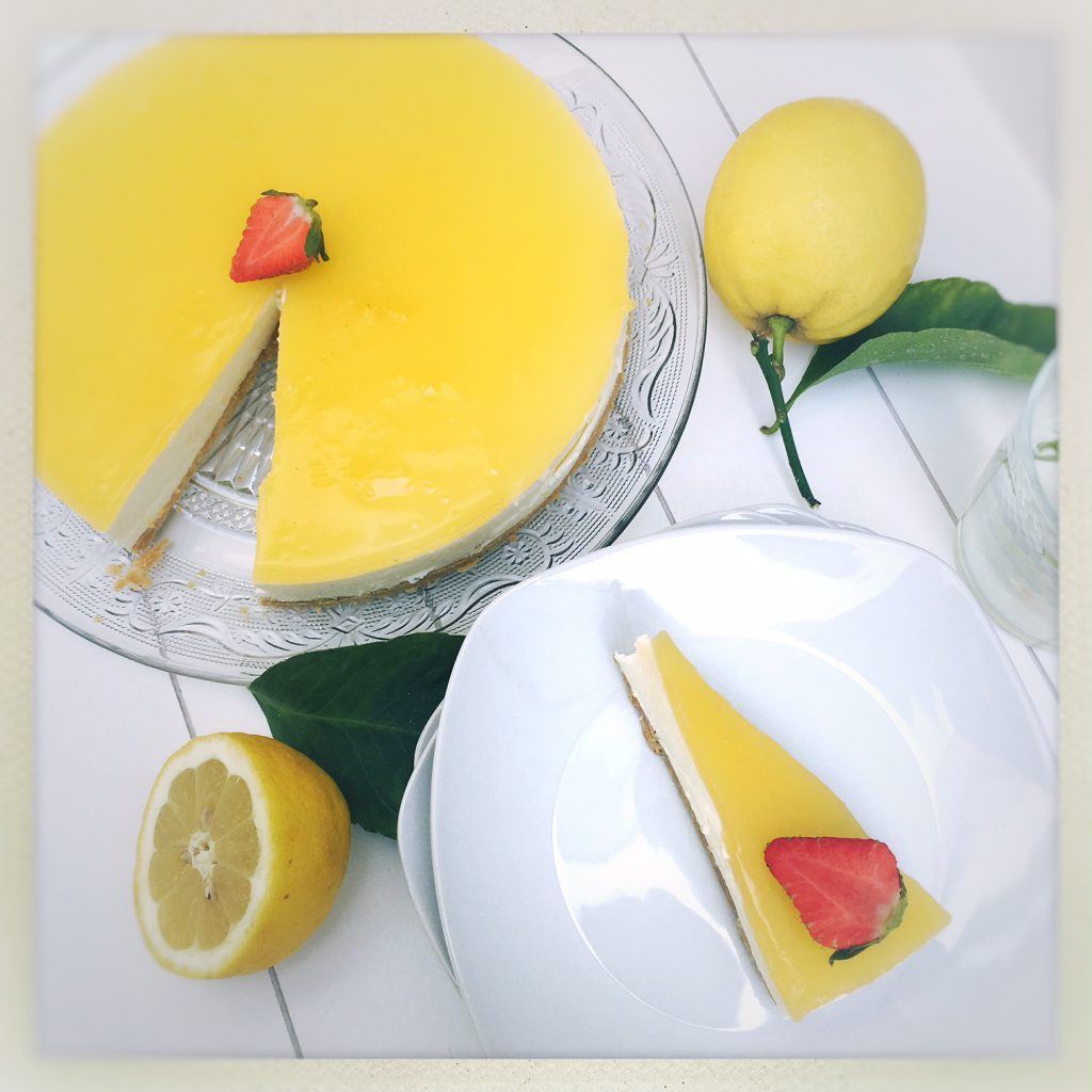 cheese cake, no bake, Lemon, Zitronen, Tarte, Cheesecake
