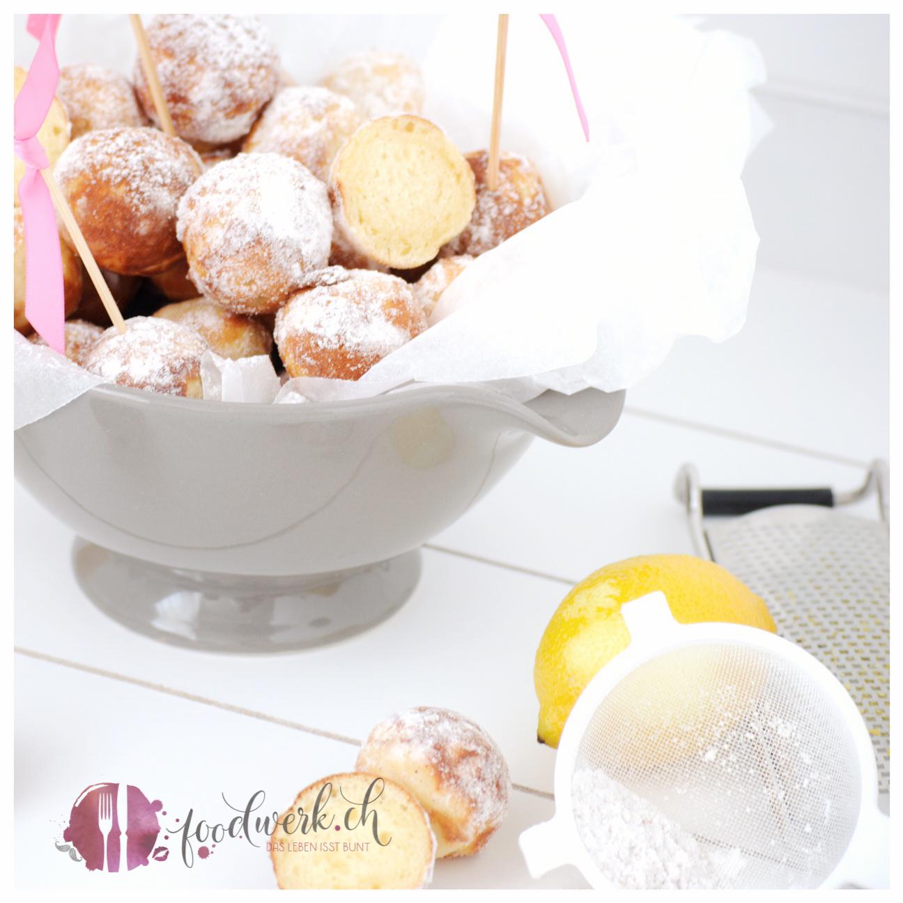 Quarkbällchen ohne frittieren im Cake pop maker