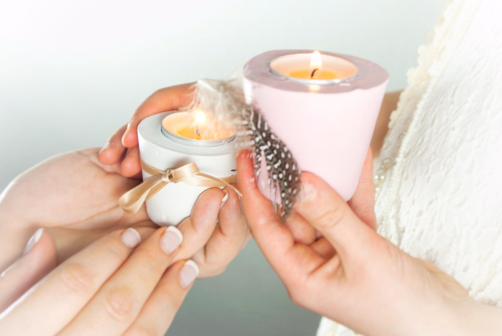 Gips teelicht diy deko ganz leicht for Teelicht deko