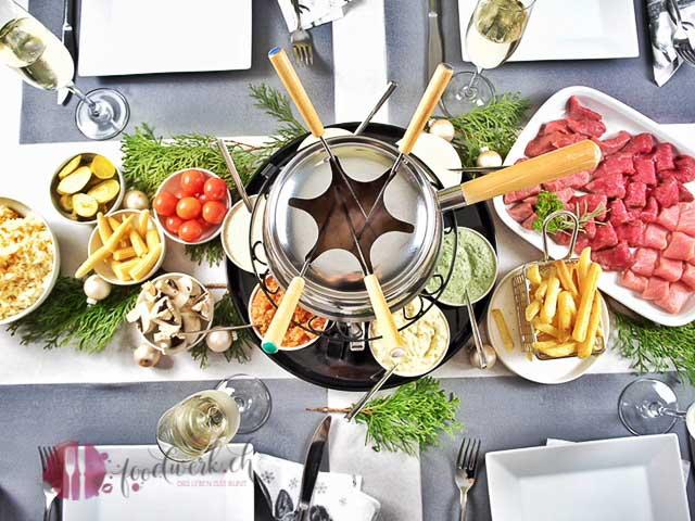 Unsere 6 beliebtesten dip saucen zu fondue chinoise und raclette - Raclette ideen ...