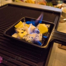 #suissemas, tischgrill, table cooking, fleisch bestellen, migros, festlicher nachtisch, dessert, suessspeise, gaeste, ueberraschen, flambieren, gratin,