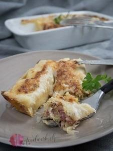 Sauerkraut Cannelloni für unseren Weihnachtswichtel!