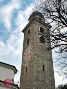 kirchturm in lugano