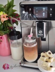 Cappuccino Eispralinen mit Saeco Xelsis