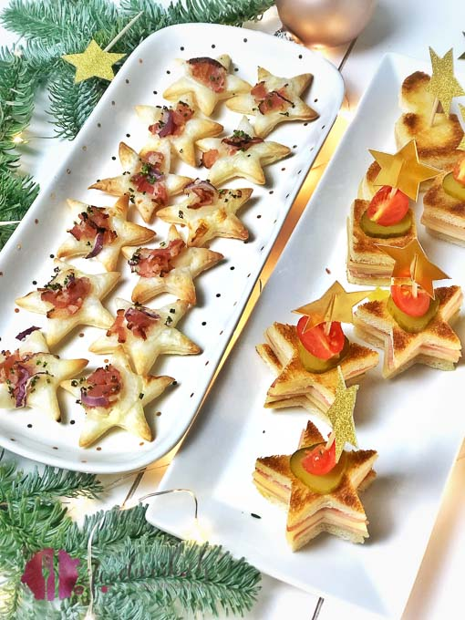 Apero Snacks Ideen für Weihnachten